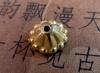 бусины металл золото